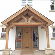 oak porch in yorkshire