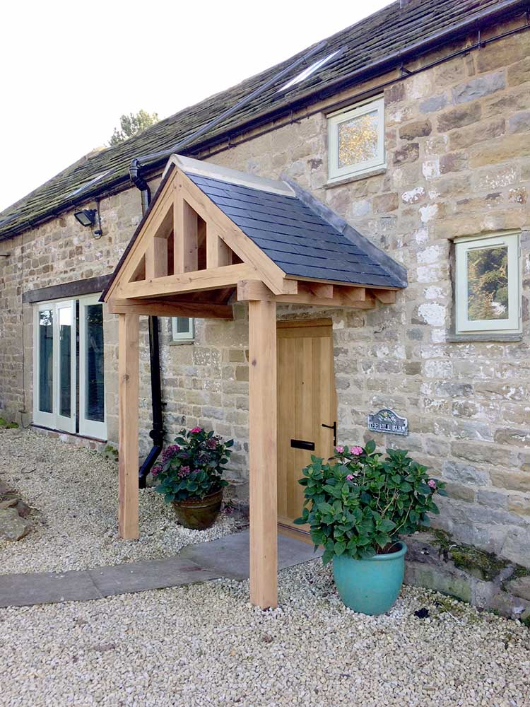 A Gallery Of Oak Porch Designs Call 01423 593794 For Details